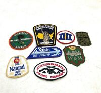 Vintage Patches Collection Lot Of (8) Military Government + S2
