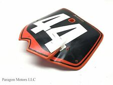 02#1 2002 KTM 125SX 125 SX Front Plastic Guards Number Plate