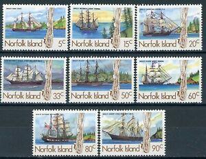 sa4611 Norfolk Is - Sc#356-63 MNH