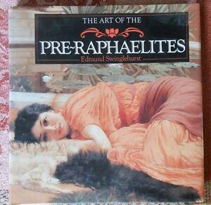 Art of Pre-Raphaelites, Swinglehurst, HC/DJ. Paintings, Illustrated