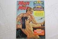 Man to Man January 1965  Adventure MagazineNazi Horror Tortures Bondage Story