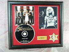 Blondie Parallel Lines Genuine CD, Autograph & Plectrum Presentation