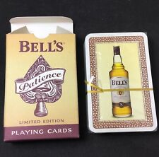 AUTHENTIC BELLS LIMITED EDITION PLAYING CARDS PATIENCE WHISKY SEALED BRIDGE SIZE
