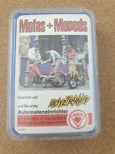 Quartett Kartenspiel Altenburger Top-Ass Mofas und Mopeds 70er Rar Vollst G