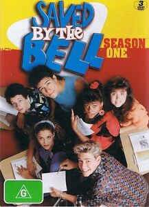SAVED BY THE BELL Season 1 One (3 x DVD Set) NEW & SEALED Free Post + Tracking