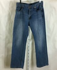Lucky Brand Men's 181 Relaxed Straight Medium Wash Denim Jeans Size 34 x 32