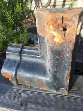 Reclaimed Ovolo Cast Iron Gutter Angles X 2 . 3 Inch Deep