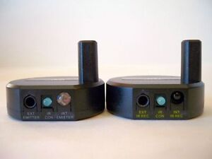 Wireless Dual Band IR Remote Control Extender Repeater Up to 600 ft