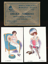 French Printed Collectable Glamour Postcards