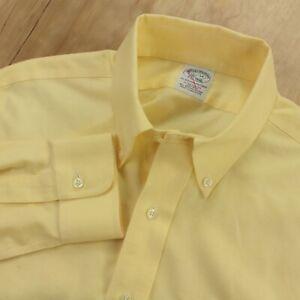 BROOKS BROTHERS extra slim fit dress shirt 15.5 x 34 button down