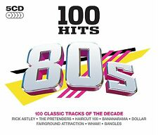 100 Greatest Hits 80s NEW SEALED 5CD SET A-HA,WHAM,BANANARAMA,THE BEAT + MORE
