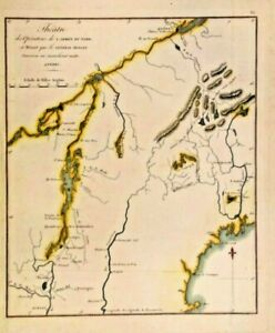 REV.WAR THEATER OF OPERATIONS OF THE NORTH BY GEN BENEDICT ARNOLD US/CANADA 1807