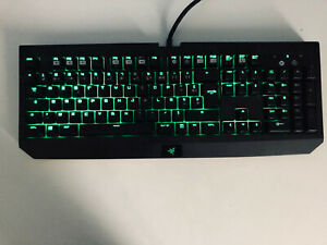 Razer Blackwidow Ultimate 2016 (azerty) | filaire | non-rgb (only green)