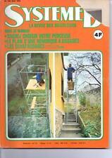 Ancien Magazine Système D - N° 340 - Mai 1974 - Remorque à Bagages + Plans