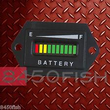 48 Volt Battery Indicator EZGO,ClubCar,Yamaha,Golf Cart, Solar, ATV, Boat.HEX