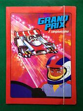 GRAND PRIX CAMPIONISSIMO Carpetta Cartellina con elastico vintage x scuola  1980