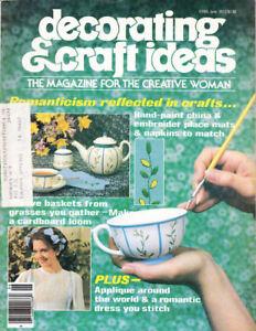 Loisirs Créatifs Livres : #1470 Décoration & Idées Magazine Vintage Juin 1977