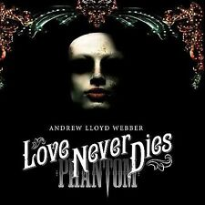Love Never Dies - Cast Recording [Deluxe Edition] [CD/DVD] 2CD/DVD NEW PROMO
