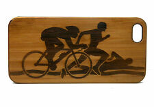 BAMBOO Case made for iPhone 5/5S, SE with Triathlon Events Artwork Design Cover