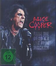 ALICE COOPER - RAISE THE DEAD-LIVE FROM WACKEN 2 CD + BLU-RAY NEU