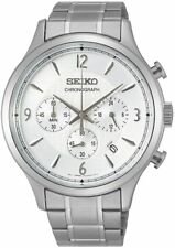 SEIKO SSB337P1 Chronograph All Stainless Steel 100M Gents 2 Year Guar RRP £210.