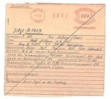 1926 Stadt Essen früh AFS Archkarte Unikat