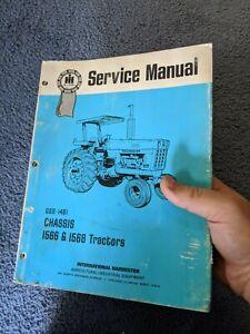 IH Farmall International 1566 1568 Service Manual blue ribbon  OEM