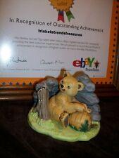 Woodland Suprises Franklin Mint Jacqueline Smith Figurine 1984 Bear Honey