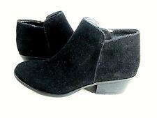 XAPPEAL Womens Stewart Low Heel Ankle Cut Bootie Black Shoes US Size 7 Medium