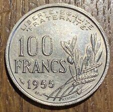 PIECE DE 100 FRANCS COCHET 1955 (620)