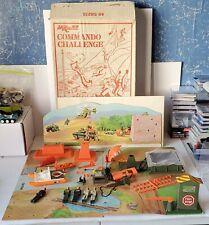 Vintage 1976 M.A.C. Commando Challenge ~ Matchbox Lesney Product ~ 5 Figures