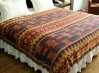 Area Rug Tapestry AZTEC Navajo Throw Blanket Sofa Cover Home Decor Wall Hang New