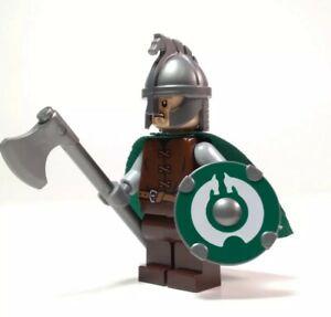 Custom Lego Rohan Warrior Minifigure Lord of The Rings - The Hobbit