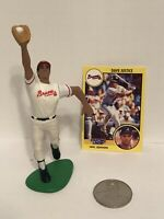 1991 David Justice Starting Lineup figure Card Coin toy Atlanta Braves MLB Dave
