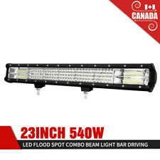 540W LED Work Light 23 Inch Flood Spot Driving Light Bar for Off-road Vehicles