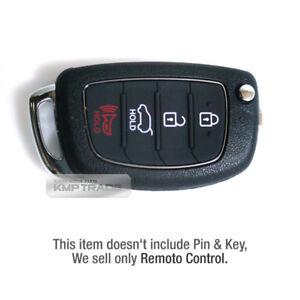 OEM Keyless Entry Fob Only Folding Key Remote Control For HYUNDAI 14-16 Elantra