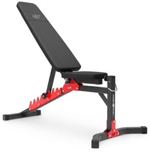 Foldable Weight Training Gym Bench Flat Incline Decline Adjustable Workout