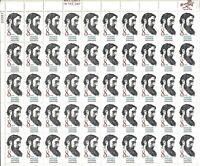 ORLEY US STAMPS #1446 Full Mint Sheet 1972 SIDNEY LANIER MNH/OG,