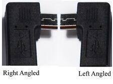 90 Gradi Sinistra Destra Angolo USB Micro Maschio A Micro Spina Femmina adattatori UK a006