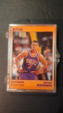 KEVIN JOHNSON 0722/1000 STAR 1990 PHEONIX PLATINUM 9 CARD SET BASKETBALL CARDS