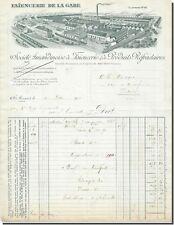 Facture - Faïencerie de la gare St-Amand 1911 ?