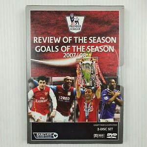 Premier League 2007/08 Review & Goals of the Season -2 Disc Set R4 -TRACKED POST