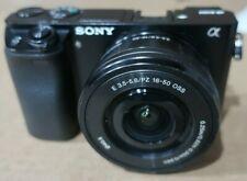 Sony Alpha A6000 24.3MP Digital Camera + SELP1650 50m Lens