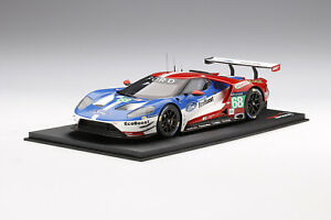 1/18 Top Speed Ford GT Chip Ganassi Team USA  Winners LMGTE Le Mans 24 Hrs 2016