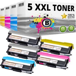 5x TONER kompatibel BROTHER L8400CDN L8450CDW HL-L8350CDW L8250CDN MFC-L8650-CDW