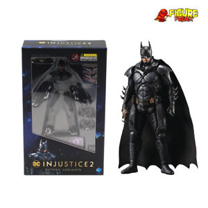 "Hiya Toys DC Comics Injustice 2 Batman Enhanced 3.75"" Figure (1:18 Scale)"