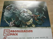 ABOMINATION PACK REGLOS ESPANOL /ZOMBICIDE BLACK PLAGUE/FROM ZOMBIE BOSS BOX
