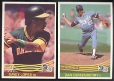 BUY 1, GET 1 FREE - 1984 DONRUSS BASEBALL - YOU PICK #401 - 600 - FREE SHIPPING
