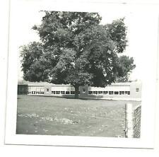 vintage photo Hardy School Elmira NY 1974 original black & white