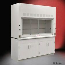 6 Chemical Bench Fume Hood Valves Ventilated Enclosure W Storage E1 188